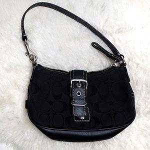 Coach Black Mini Hobo Bag